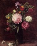henri fantin latour flowers large bouquet with three peonies painting 78938