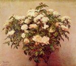 henri fantin latour rose trees painting 32251