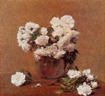 rose paintings - roses 10 by henri fantin latour