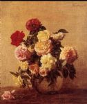 rose paintings - henri fantin latour roses iv by henri fantin-latour