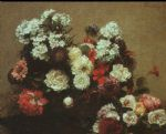 henri fantin latour still life with flowers 1881 paintings