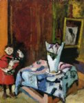 pierre with wooden horse by henri matisse painting