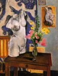 plaster torso by henri matisse painting