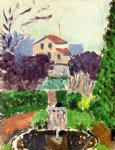 the artist s garden at issy by henri matisse painting