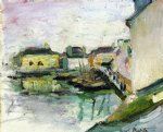 the port of palais belle by henri matisse painting
