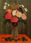 henri rousseau bouquet of flowers with an ivy branch ii painting 32042