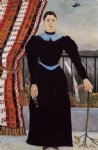 portrait paintings - portrait of a woman ii by henri rousseau