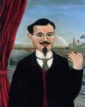 portrait paintings - portrait of leon by henri rousseau