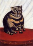 the tiger cat by henri rousseau painting