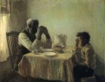 henry ossawa tanner the thankful poor painting