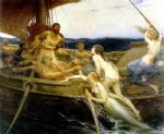 ulysses and the sirens by herbert james draper paintings