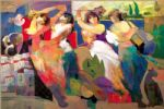 hessam abrishami twilight dance painting-84536