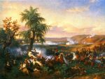 the battle of habra by horace vernet painting