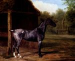 jacques laurent agasse lord rivers roan mare in a landscape painting 80486