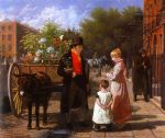 jacques laurent agasse the flower seller painting 83599