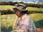lost in thought by james carroll beckwith painting