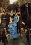 james jacques joseph tissot the bridesmaid painting