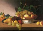still life with fruit ii by james peale painting