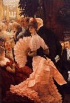 a woman of ambition by james tissot painting