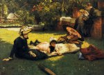 james tissot in the sunshine paintings
