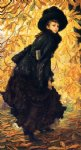 october by james tissot painting