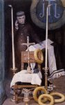 portrait paintings - portrait of the pilgrim by james tissot