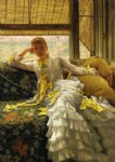 seaside by james tissot painting