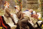 james tissot the garden bench painting
