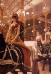 james tissot the ladies of the cars painting