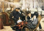 james tissot the last evening painting