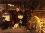 james tissot the prodigal son in modern life the fatted calf painting