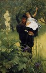 the widower by james tissot painting