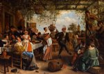 jan steen the dancing couple art