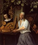 the leiden baner arend oosterwaert and his wife catharina keyzerswaert by jan steen painting