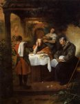 the supper at emmaus by jan steen painting