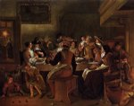 twelfth night ii by jan steen painting