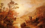 jasper francis cropsey autumn in the highlands of the hudson oil paintings