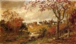 autumn landscape by jasper francis cropsey oil paintings