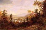 jasper francis cropsey autumn on the hudson painting
