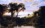 jasper francis cropsey hudson river view summer paintings