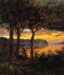 jasper francis cropsey palisades opposite hastings poster