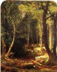 jasper francis cropsey pool in the woods paintings