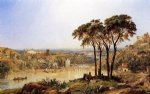 jasper francis cropsey summer noonday on the arno painting