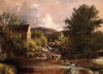 jasper francis cropsey the old mill painting