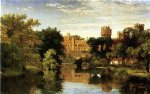 jasper francis cropsey warwick castle england painting