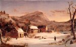 jasper francis cropsey winter in the rockies painting