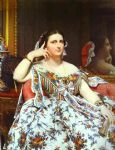 mme moitessier by jean auguste dominique ingres painting