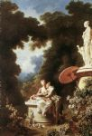 the confession of love by jean fragonard painting