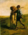 jean francois millet the walk to work painting
