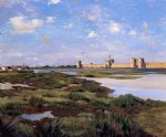 jean frederic bazille aigues painting